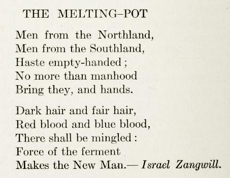 Zangwill_melting pot