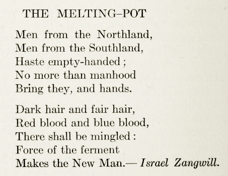 Zangwill_melting pot