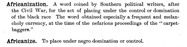 Africanization_The New Dictionary of Americanisms1902