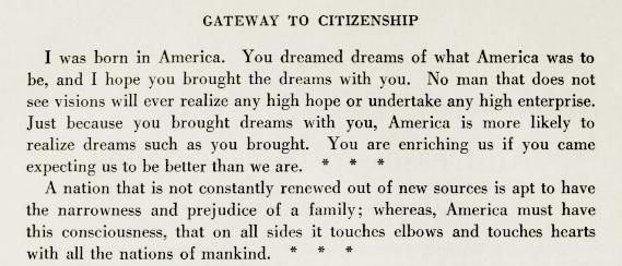 Woodrow Wilson to immgrants_Gateway